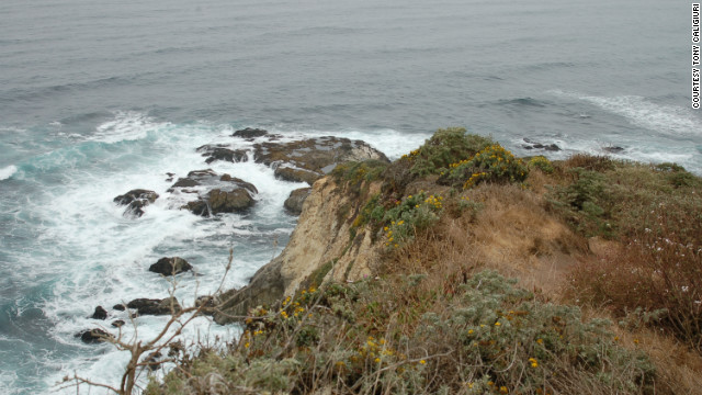 """You have the bay on the right, the ocean on the left and a view to the rocky point section of the park,"" Caligiuri says."