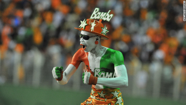 Ivory Coast's fans were in a better mood after the 4-2 win over Senegal at the Felix Houphouet-Boigny stadium in Abidjan in the first leg of the play-off in September for next year's tournament.