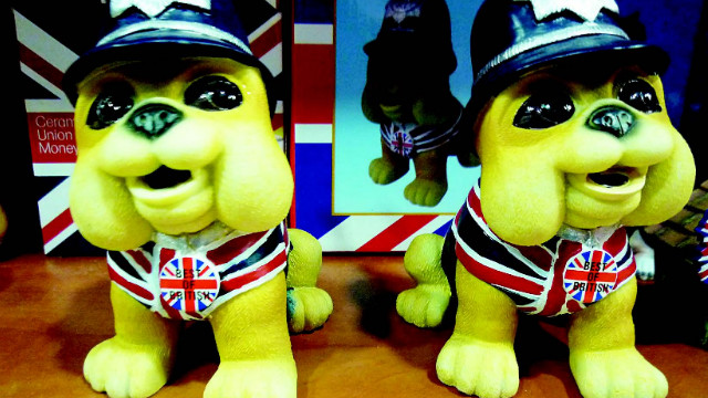 His and hers British police dogs!