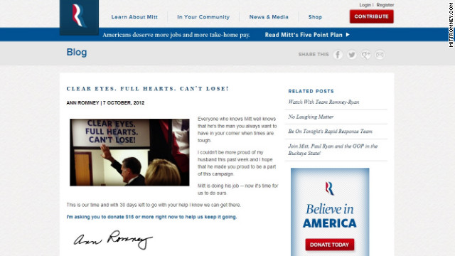 Will Romney punt his slogan?