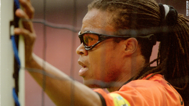Edgar Davids has enjoyed spells with AC Milan, Juventus and Barcelona during his playing career.