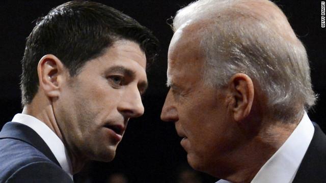 Joe Biden y Paul Ryan empatan en el debate vicepresidencial