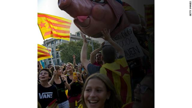 La independencia catalana supondría a España perder el 20% de su economía