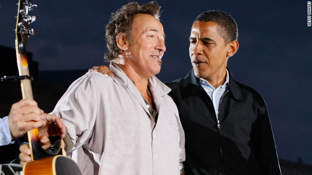 Springsteen, Jay-Z to campaign with Obama on final day