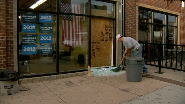 No injuries after shot fired at Obama campaign office in Denver