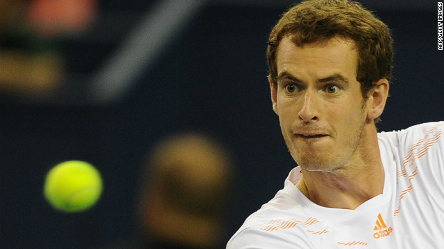 Andy Murray is focused on winning a third Shanghai Masters on Sunday.
