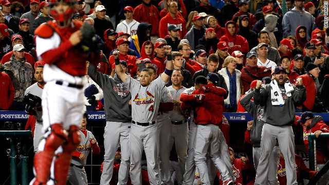 Cards stun Nats; Yankees advance