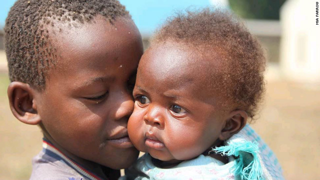 UNICEF says the first 1,000 days of a child's life are crucial. These children, photographed in South Sudan's Western Equatoria state in March 2011, have benefited from an adequate supply of food early on.
