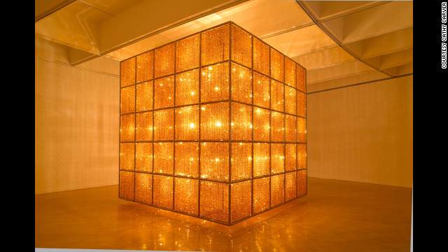 &quot;Cube Light&quot; (2008) is nearly 14 feet on each side and takes up an entire gallery.