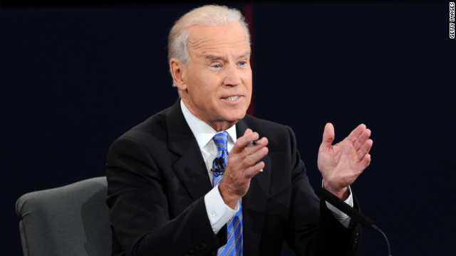 Biden: No 'character' comparison between Obama, Romney