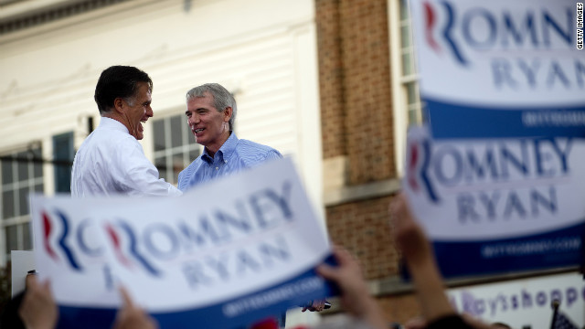 Sen. Portman: 'Wouldn't want to risk' Romney losing Ohio