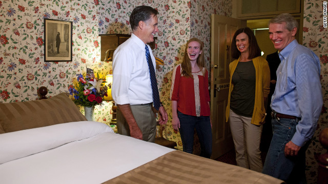 Romney: Rates at friend Sen. Portman family's hotel 'a fleece'