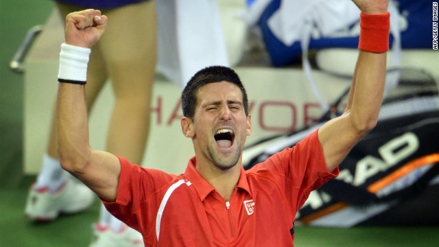 Djokovic turned the tables on Murray in a superb Shanghai Masters final in October when he saved five match points before clinching an epic victory.