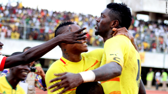And it was Adebayor who proved the difference, scoring the goal which sealed a 2-1 win for Togo on the day and a 3-2 triumph on aggregate.