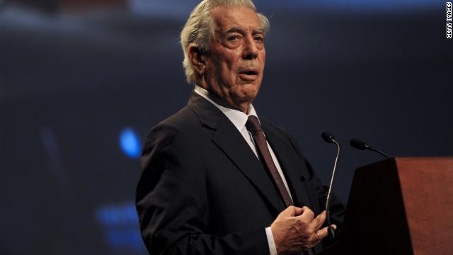 Mario Vargas Llosa gana el Premio Internacional Carlos Fuentes