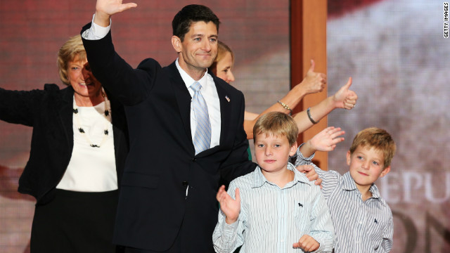 "Paul Ryan has been reprimanded from heavy-hitting fashion publications for his baggy suits. Women's Wear Daily said he ""is working an accountant-from-suburbia look,"" while Esquire called it a ""trash-bag black suit."""