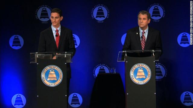 Senate candidates from Ohio debate auto bailout