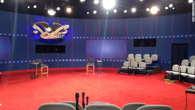 All knotted up ahead of second Obama-Romney showdown