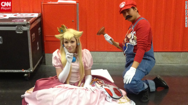Video game characters are also popular costume choices, as you can see with Super Mario and Princess Toadstool.<br/><br/><a href='http://ireport.cnn.com/docs/DOC-858081' target='_blank'>See more photos of New York Comic Con on Alan Kistler's iReport</a>.<br/><br/>