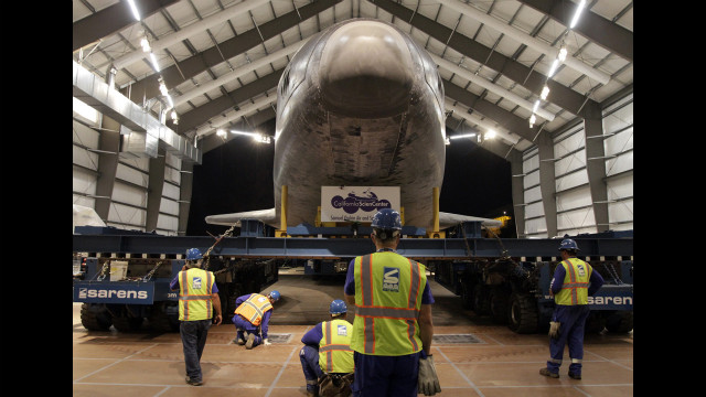 Photos: Space shuttle Endeavour\'s last trip