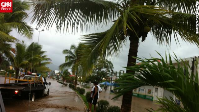 """""""Paul"""" se convierte en huracán categoría tres en las costas del Pacífico"""