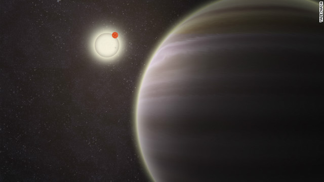 PH1, confirmed to be a planet, is in a unique solar system configuration -- it has four suns! Seen here on the right, PH1 was identified by citizen scientists through the group Planet Hunters. 