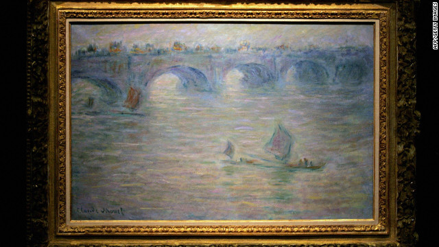 Claude Monet's &quot;Waterloo Bridge, London&quot; was also taken during the pre-dawn heist.