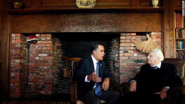 Billy Graham's group removes Mormon cult reference from website after Romney meeting