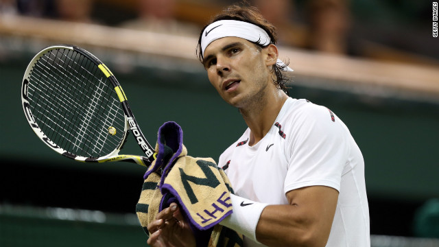 Former world No. 1 Rafael Nadal hasn't played since being knocked out in the second round of Wimbledon in July.