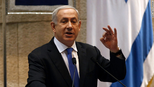 Israeli Prime Minister Benjamin Netanyahu addresses the opening of the winter session of the Knesset on Monday, October 15.