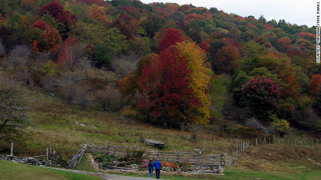 Grayson Highlands offers a variety of trails for hikers, horseback riders, mountain bikers and cross-country skiers.