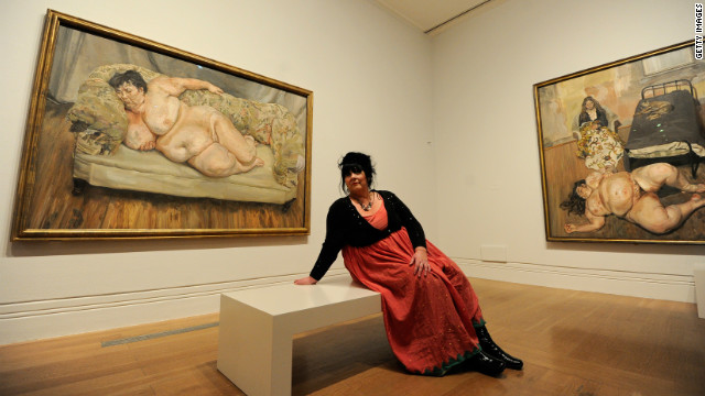 "British artist Lucien Freud caused a stir with his 1995 painting of Job Centre supervisor Sue Tilley, called ""Benefits Supervisor Sleeping."" The naked woman weighed around 127kg at the time."
