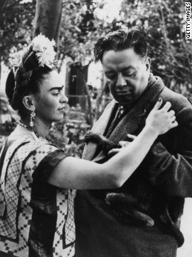 Frida Kahlo was the wife and muse of Mexican artist Diego Rivera. An acclaimed artist in her own right, today Frida is the more renowned of the pair, with actress Salma Hayek playing her in the 2002 biographical film &quot;Frida.&quot;