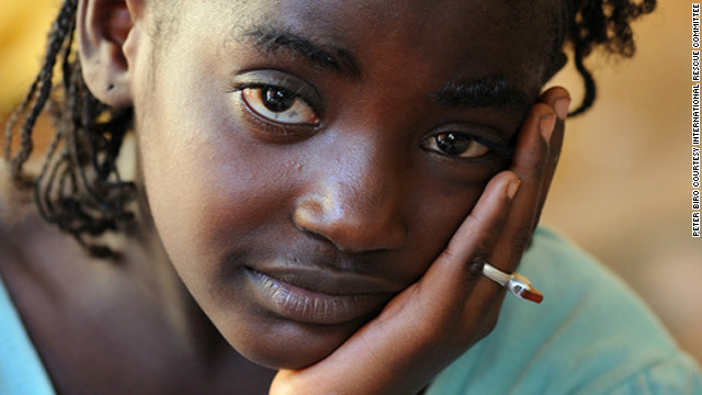 This young girl fled with her family to Bamako from Gao, a town in the north of Mali that is now controlled by Islamic extremists. More than 320,000 Malians have fled the north in search of food or safety, 200,000 of them seeking sanctuary in neighboring Niger, Burkina Faso and Mauritania. The remaining 120,000 are internally displaced.