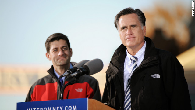 Romney, Ryan love North Face. Founder finds it 'ironic'