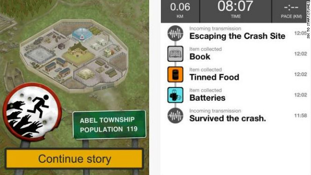 &lt;a href='http://zombiesrungame.com' target='_blank'&gt;Zombies, Run!&lt;/a&gt;: ($7.99, zombiesrungame.com) Zombies, Run! takes an unconventional approach to cardio, putting users in the shoes of zombie survivors outrunning the apocalypse. There are more than 30 missions and the high price hasn't dampened online appetite for the app. (iPhone, iPod Touch, iPad, Android, Windows)