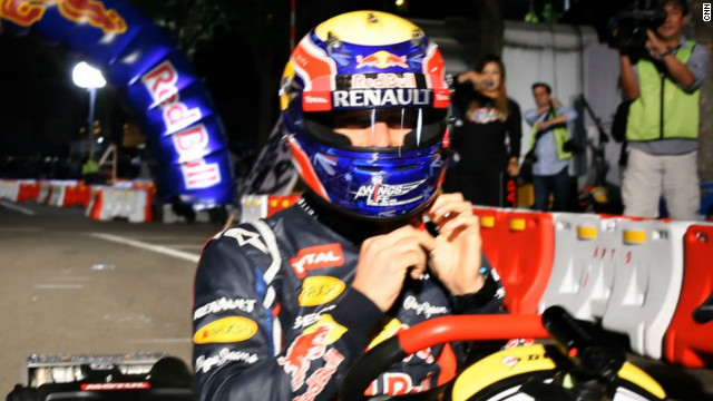"Webber says: ""Karting is the best way for you to get a feel of how to race each other, dealing with the competition, dealing with winning, dealing with losing and you soak it up so much at a young age and learn very fast."""