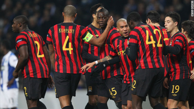 Porto were hit by a $27,000 fine after their fans were found guilty of subjecting Manchester City forward Mario Balotelli to monkey chants during a Europa League game in February 2012. It took UEFA six weeks to finally hand out a punishment. But questions were raised after UEFA also fined City $40,000 after the club were found guilty of coming back out on to the field of play late after the halftime interval.<br/><br/>