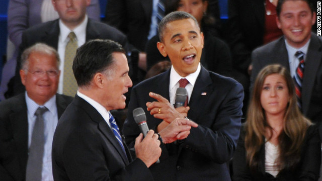 Need to Know News: Obama and Romney in bruising second debate; Envoy pushing for Syria cease-fire