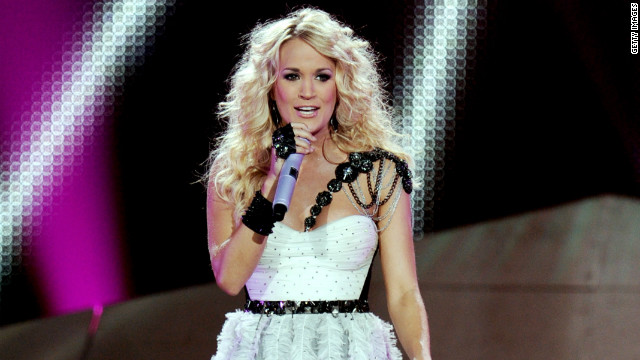 When Carrie Underwood's &lt;a href='http://www.cnn.com/video/#/video/us/2012/09/25/carrie-underwood-first-kiss.cunews4fans' target='_blank'&gt;not making the dreams of a young boy come true with a quick kiss&lt;/a&gt;, she's knocking out No. 1 albums, &lt;a href='http://www.cnn.com/2012/05/09/showbiz/music/carrie-underwood-top-billboard-album-ew/index.html?iref=allsearch' target='_blank'&gt;as she did this year with &quot;Blown Away.&quot; &lt;/a&gt;