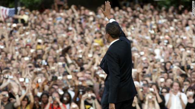 In 2008, then-Democratic candidate Barack Obama used Berlin as a stage for a major foreign policy speech. Pleitgen says he remains popular among the German public.