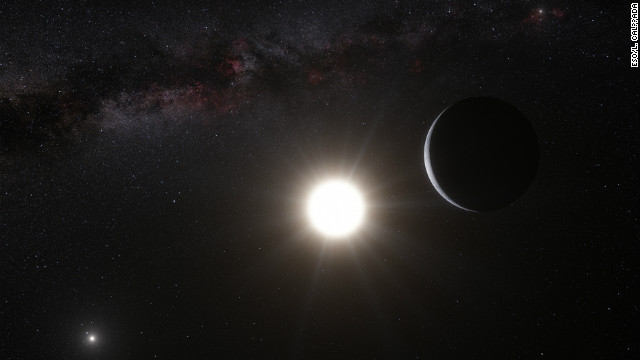 Closest planet found outside solar system