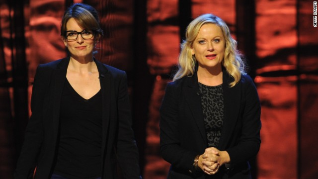 Fey and Poehler attended Comedy Central's 'Night of too many stars' on October 13 to support autism programs. The event will air on Sunday, October 21.