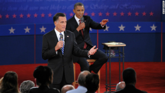 Obama wins on time, Romney wins on word count