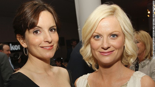 "Tina Fey and Amy Poehler hosted the Golden Globes on Sunday, January 12, and they are the subject of a CNN special, ""Tina Fey and Amy Poehler: First Ladies of Comedy."" Here's a look at their friendship over the years."