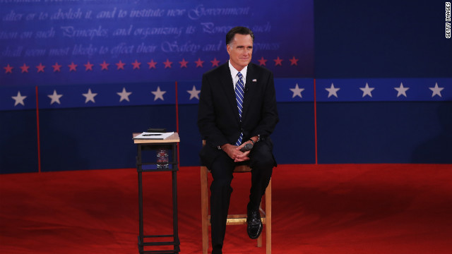 Romney reacts to frenzy over 'binders' comment