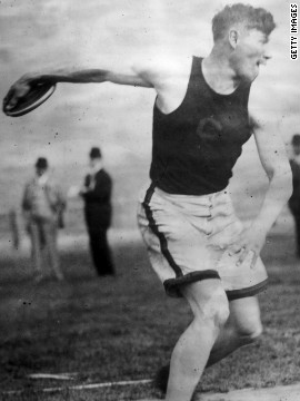 Jim Thorpe competed in the 1912 Summer Olympics. His sport of choice? The pentathlon and decathlon, where he finished first in eight of the 15 events, according to Men's Health. He then went on to play professional baseball AND football.