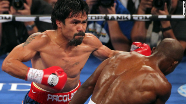 Manny Pacquiao is often ranked as one of the world's best boxers -- and one of the highest-paid. He was the first boxer to win seven world titles in seven weight divisions, according to GQ magazine. <br/><br/>