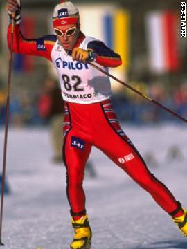 Those who have tried cross-country skiing know it is not for the faint of heart. Norway's Bjoern Daehlie earned 12 Olympic medals -- eight of them gold -- before retiring in 1999. Who else made the list? Check out all 100 <a href='http://www.menshealth.com/fitness/fittest-men-ever' target='_blank'>on Men's Health</a>.