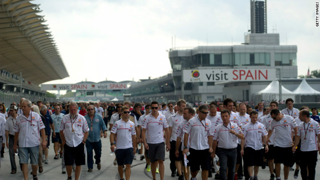 MotoGP teams and officials came together at Sepang to remember the former rider during the 'Tribute for Marco Simoncelli' ceremony. According to 2011 world champion Casey Stoner, the incident is &quot;a lot more fresh on everyone's mind being the anniversary.&quot; &lt;br/&gt;&lt;br/&gt;